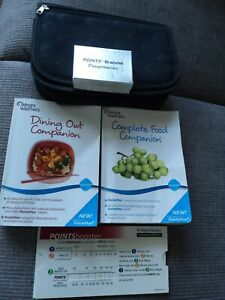 WEIGHT WATCHERS BOOKS ,POINTS BRACELET,CARRY CASE,POINTS BOOSTER CALCULATOR