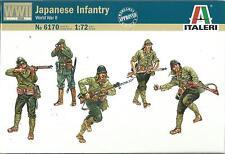 ITALERI 1:72 SOLDATINI JAPANESE INFANTRY WORLD WAR II    ART 6170
