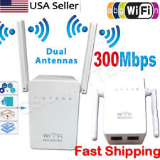 300M Wireless-N Repeater Network Router WiFi Signal Range Extender 802.11n US