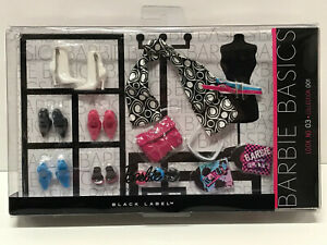 Barbie Basics Look No. 03 Collection 001 Accessory Pack Shoes R9932 NRFB New
