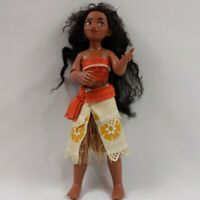 Official Disney Store Moana Doll. 12 inch NICE CONDITION. FREE POSTAGE.