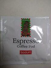 BODUM  Espresso Pods - 16 each - 7 gram 45mm E.S.E.
