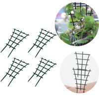 2/4PCS Climbing Plant Support Flowers Stem Rings Trellis Cage Frame Stand Garden