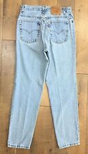 LEVI'S Vtg 90s Womens High Waist Mom Jeans 550 Relaxed Fit Tapered Leg 12 M MIS