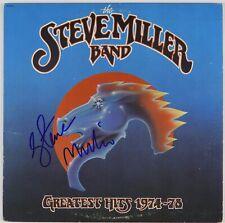 Steve Miller Band Greatest Hits 1974-78 Signed Autograph Record Album JSA Vinyl