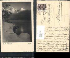 403067,Fotokunst Begro 3781 Leuchtende Gipfel See Bergkulisse Winterbild