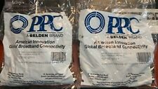 2-50 Packs PPC Belden EX6XL EX6XL-DNW 122190 RG6 Compression F Connector
