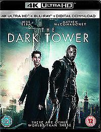 The Dark Tower Idris Elba Matthew McConaughey BLU-RAY 4K ULTRA HD free post in u