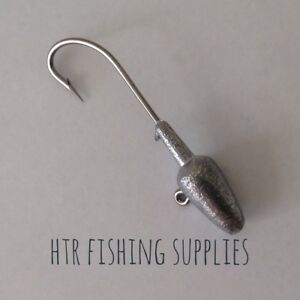 HTR Fishing Supplies 5 X Bullet Nose Jig Heads 1/4 3/8 1/2 3/4 and 1 ounce