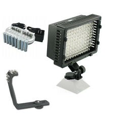 Pro 12 LED video light 8 AA for Sony NXCAM NEX EA50M EA50UH FS100U HD camcorder