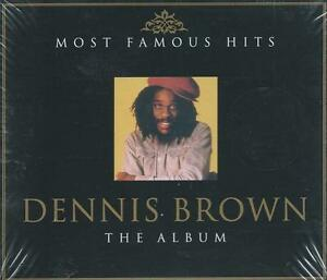 2 CD box - DENNIS BROWN - MOST FAMOUS HITS - THE ALBUM NEW & SEALED