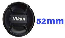Bouchon (cache objectif) de remplacement 52mm, pour Appareil photo Nikon