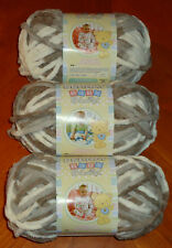 Bernat Baby Blanket Yarn Lot Of 3 Skeins (Little Sandcastles #03011) 3.5 oz.