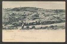 Judaica Postcard Jerusalem Mont Des Oliviers 1914