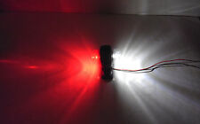 2x 12V-24V 2LED Side Marker Red White Lights Lamps for Truck Trailer Lorry Van