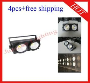 200W White And Warm White Led DJ Stage Effect Blinder Light 4pcs Free Shipping