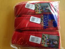 Russell Adult/Youth Solid Color All Sport Tube Sock,12 Pair,True Red, Small