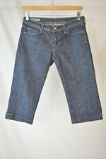 Citizens of Humanity COH Dark wash cropped BARDOT capri denim jeans, size 27
