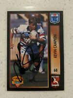 ✺Signed✺ 1994 Dynamic Kevin Campion (Gold Coast Seagulls) NRL Rugby League card