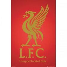 Liverpool FC Poster Crest Football Club Anfield LFC