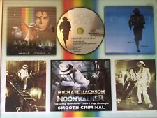 MICHAEL JACKSON SMOOTH CRIMINAL/MOONWALKER/BAD ERA SUPER RARE COMMEMORATIVE ART