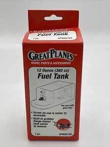 Great Planes GPMQ4105 12 Ounce 360cc Fuel Tank For RC Airplanes New NOS 1116