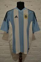VINTAGE ARGENTINA HOME FOOTBALL SHIRT 2002/2004 SOCCER JERSEY CAMISETA MENS L