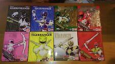 S.H Figuarts Sentai Power Rangers Zyuranger Green White Red Pink Black Blue