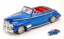Chevrolet Special Deluxe 1941 Metallic Blue 1:24 Model 4111 WELLY