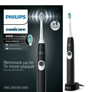 Philips Sonicare ProtectiveClean 4100 Black Electric Toothbrush NEW !!!