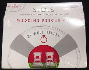 Wedding Emergency Rescue Kit High Heeler Heels Solemates Heel protector Survival