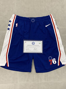 Game Worn Joel Embiid 2020 Playoffs Worn Shorts. Comes With Coa From Fanatics 🔥