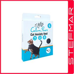 AFP Calm Paws Anxiety Vest for Cats Small upto 9 lbs