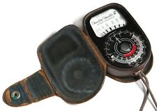 Weston Master III Light Meter in case