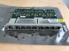 Cisco HWIC HWICD 9ESW-POE 9-port EtherSwitch POE Card HWIC Interface