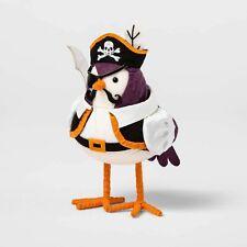 2020 Pirate Clipper Fabric Halloween Bird Hyde & Eek Boutique Figurine Target