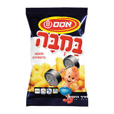 Lot of 4 Packs of 15 gr BAMBA Osem Corn Peanut Snack Kosher Food  from israel