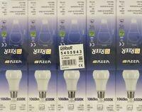 REER 10 PEZZI Lampadina Led a Goccia Luce Fredda 6500K E27 Risparmio Energetico
