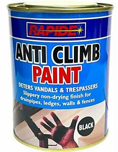 Anti Climb Paint 500ml Slippery Non Drying Paint Black
