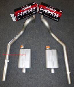 "64-77 Chevrolet Chevelle 3"" Mandrel Bent Exhaust - Flowmaster Original 40"