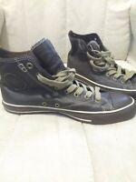RARE Converse Chuck Taylor All Star Brown Leather Hi-Top Men's Shoes 1J857 Sz 9