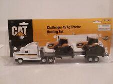 ERTL CAT Challenger 45 Ag Tractor Hauling Set 1/64 scale model. # 2412