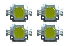 4 Stk. High Power 10W LED Chip in warmweiß kaltweiß 12V Aquarium DIY COB 1100 Lm