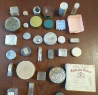 30+ Containers Watchmakers TINS, Box, Plastic Vials Watchmaker Travels Lot# 111A
