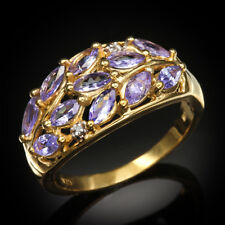 New 1.01 CT Tanzanite & Diamond Vine Ring ~ Size 6 (SOPHISTICATED) [MSRP~$499]