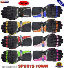 Pro-Racer Ladies Professional Motorbike/Motorcycle Moto Leather Gloves Bargain