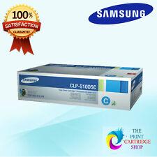 New & Original Samsung CLP-510D5C Cyan Toner Cartridge CLP-510 511 515