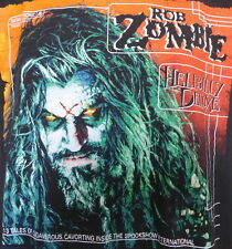 90's Vintage Rob Zombie Hellbilly Deluxe Promo Concert T Shirt Xl White Zombie