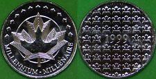 1999 Canada Millennium Medallion Graded as Proof Like From Original Set