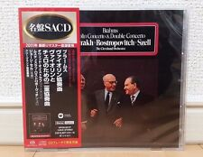 Oistrakh Brahms Violin Concerto Double Concerto Japan Hybrid CD WPGS-50107 w/OBI
